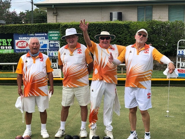 nambour heights bowls team